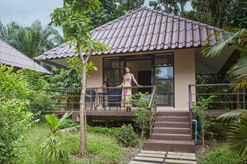 Family Thai Bamboo House